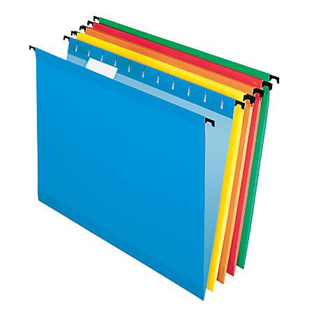 Pendaflex® SureHook® Technology Hanging File Folders, Letter Size, Assorted, Box Of 20