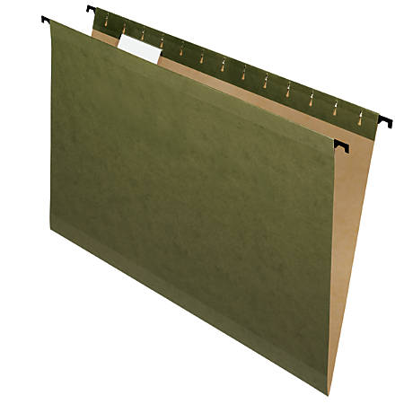 Pendaflex® SureHook® Technology Hanging File Folders, Legal Size, Standard Green, Box Of 20