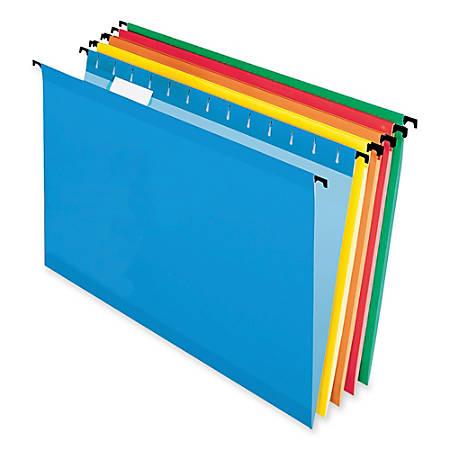 Pendaflex® SureHook® Technology Hanging File Folders, Legal Size, Assorted, Box Of 20