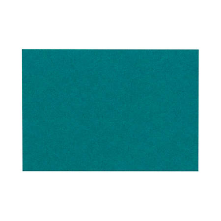 """LUX Flat Cards, A2, 4 1/4"""" x 5 1/2"""", Teal, Pack Of 500"""