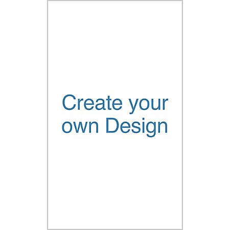 A-Frame Sign, Vertical, Create Your Own