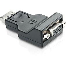 Comprehensive DisplayPort Male to VGA Female