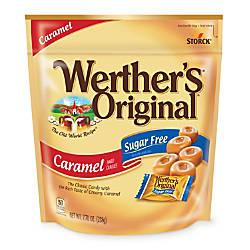 Werthers Original Sugar Free Caramel Hard