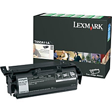 Lexmark T650A11A Return Program Black Toner