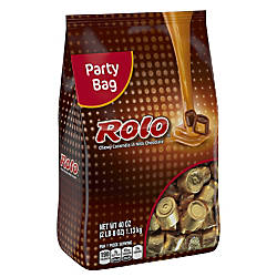 Rolo Chewy Caramels 40 Oz Stand