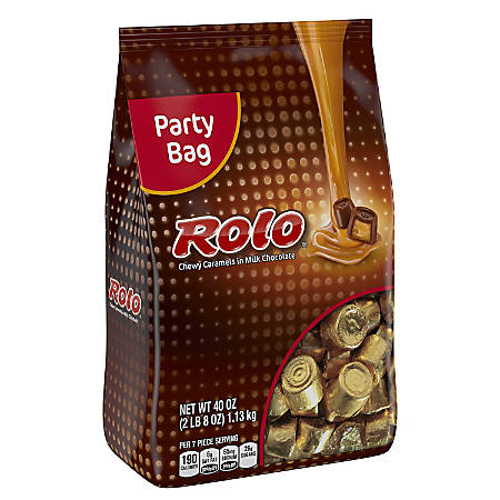 Rolo Chewy Caramels, 40-Oz Stand-Up Bag