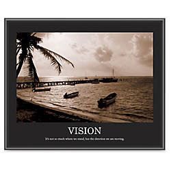 Advantus Motivational Print Vision Sepia