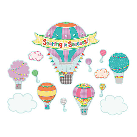 Carson-Dellosa Up And Away Soaring To Success Bulletin Board Set, Multicolor, Grades Pre-K - 5