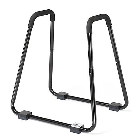 "Black Mountain Products Heavy-Duty Dip Stand, 37""H x 35""W x 22""D, Black"