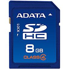 Adata ASDH8GCL4 R 8 GB SDHC