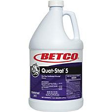 Betco Quat Stat 5 Disinfectant Gallon