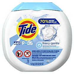 Tide Free Gentle Pods 088 Oz