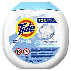 Tide Free Gentle Pods 088 Oz