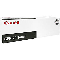 Canon LaserJet GPR 21 0262B001AA Black