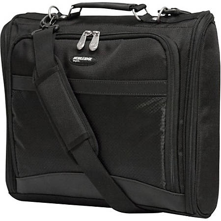 """Mobile Edge Express Carrying Case (Briefcase) for 14.1"""" Ultrabook - Black - Ballistic Nylon - Handle, Shoulder Strap - 10.5"""" Height x 14"""" Width x 2.5"""" Depth"""