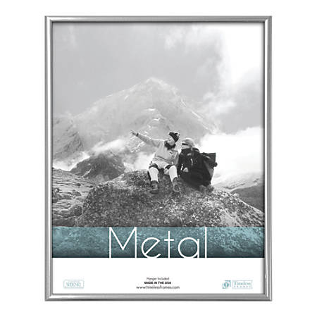 Timeless Frames Metal PhotoDocument Frame 11 x 17 Silver by Office ...