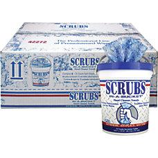 SCRUBS Hand Cleaner Towels 72 Towels