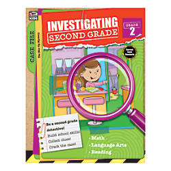 Thinking Kids Investigating Second Grade Grade