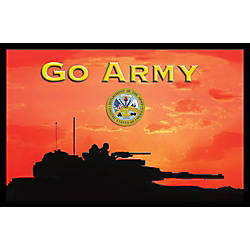 California Color Products Army Door Mat