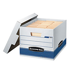 Bankers Box QuickStor 60percent Recycled Storage