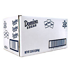 Domino Sugar Packets Box Of 2000