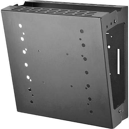 "Peerless-AV GC-UNV Wall Mount for Gaming Console, Flat Panel Display - Black - 42"" Screen Support - 100 lb Load Capacity"
