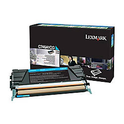 Lexmark C746A1CG Return Program Cyan Toner