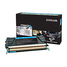 Lexmark C746A1CG Return Program Cyan Toner
