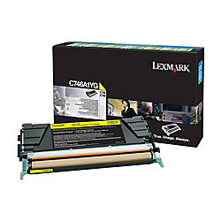 Lexmark C746A1YG Return Program Yellow Toner