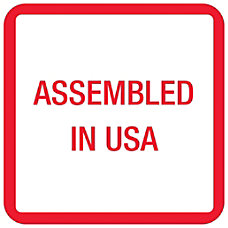 Tape Logic Preprinted Labels USA303 Assembled