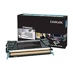 Lexmark C746H1KG High Yield Black Toner