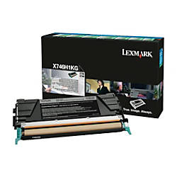 Lexmark X746H1KG High Yield Black Toner