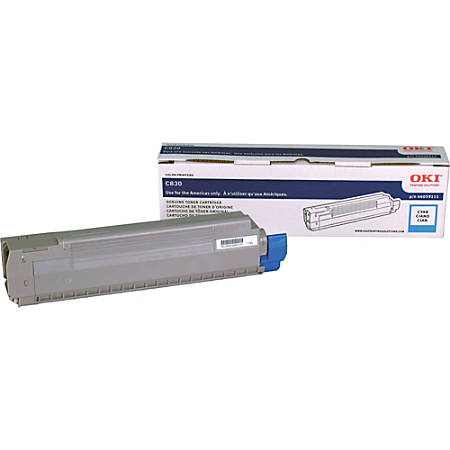 OKI - Cyan - original - toner cartridge - for C830CDTN, 830dn, 830dtn, 830n