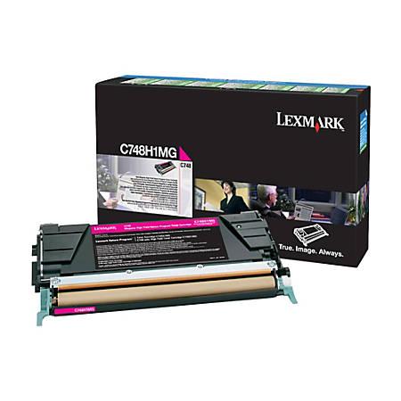Lexmark™ X748H2CG High-Yield Magenta Toner Cartridge