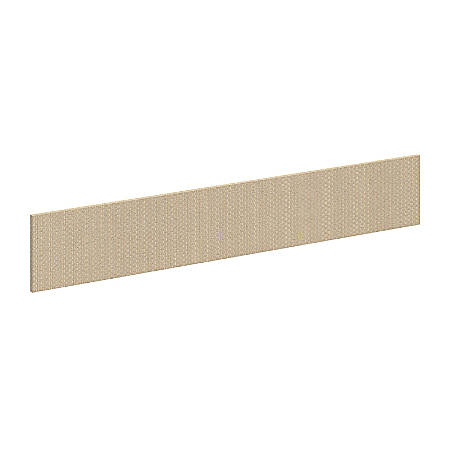"Bush Business Furniture Components Elite Privacy Return Bridge Tack Board, 48""W, Lyric Sundew Fabric, Standard Delivery"