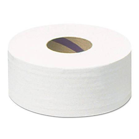 Scott® 2-Ply JRT Jumbo Bathroom Tissue Rolls, 100% Recycled, White, 2,000' Per Roll, Pack Of 6 Rolls