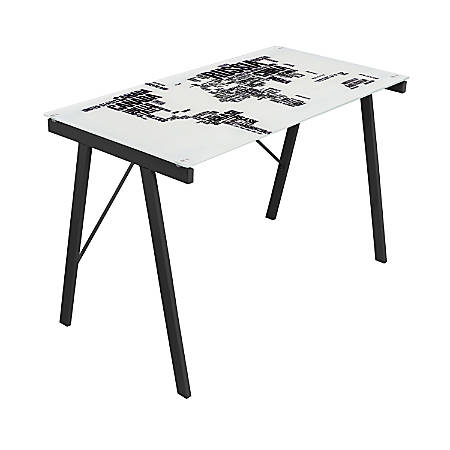 Lumisource exponent desk world map graphic top by office depot lumisource exponent desk world map graphic gumiabroncs Image collections