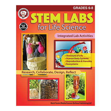 Mark Twain Media STEM Labs for Life Science, Grades 6-8