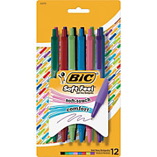 BIC Soft Feel Ball Pen Medium