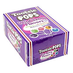 Tootsie Pops Wild Berry Lollipops 100