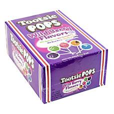 Tootsie Pops Wild Berry Lollipops 100