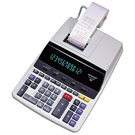 Sharp® EL-2630PIII Printing Calculator
