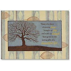 Viabella Sympathy Greeting Card Tree 5