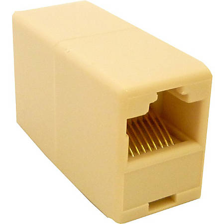Professional Cable RJ45 Coupler Straight Through Female to Female - 1 x RJ-45 Female Network - RJ-45 Female Network