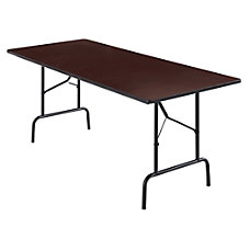 Fabulous Wooden Folding Tables At Office Depot Officemax Download Free Architecture Designs Intelgarnamadebymaigaardcom