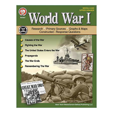 Mark Twain Media World War I, Grades 6-12
