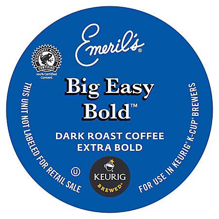 Emeril's Big Easy Bold™ Coffee K-Cup® Pods, Box Of 24