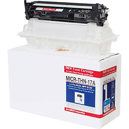 microMICR MICR Toner Cartridge - Alternative for HP (CF217A) - Black - Laser - Standard Yield - 1600 Pages - 1 Each