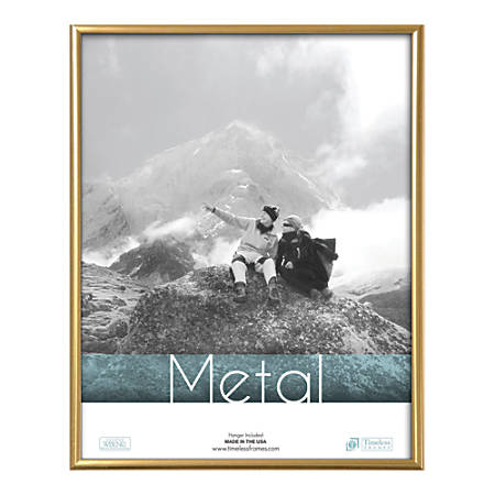 "Timeless Frames Metal Photo/Document Frame, 11"" x 14"", Silver"