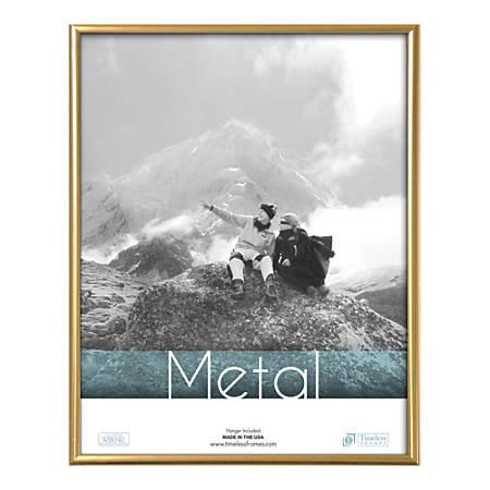 "Timeless Frames Metal Photo/Document Frame, 11"" x 14"", Silver"